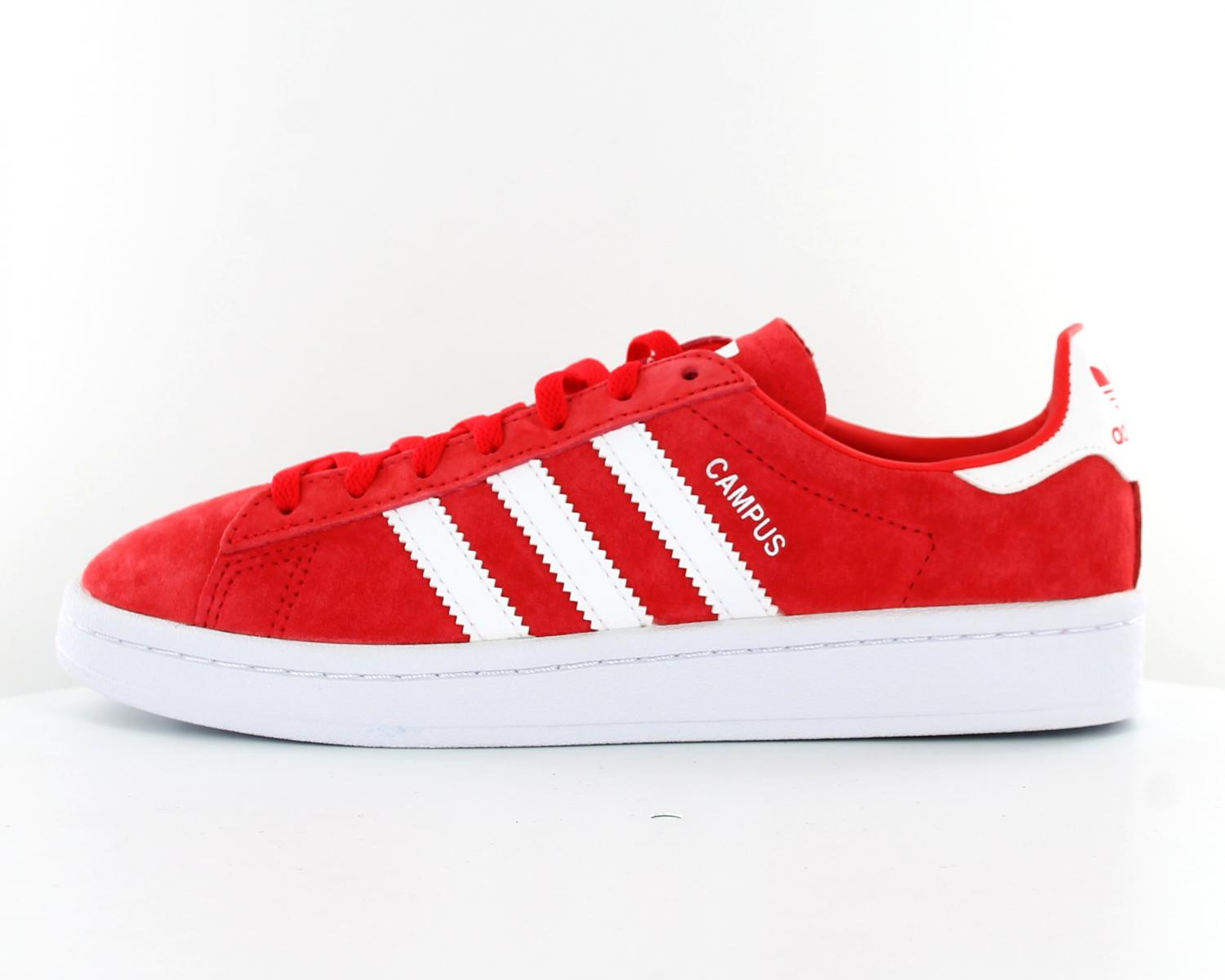 39ced976d adidas campus rouge