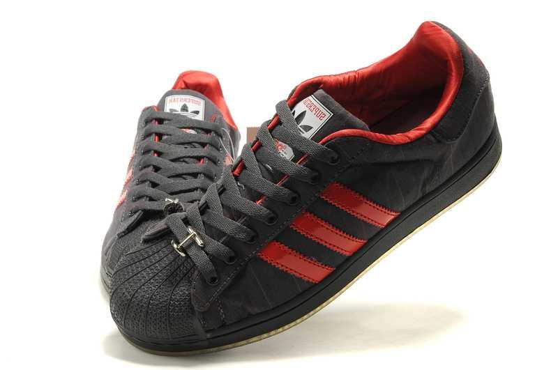 grande vente 4d91f e3d87 adidas superstar homme rouge et noir