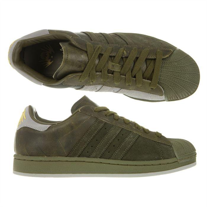 nouveaux styles b45c1 26151 adidas superstar vert militaire