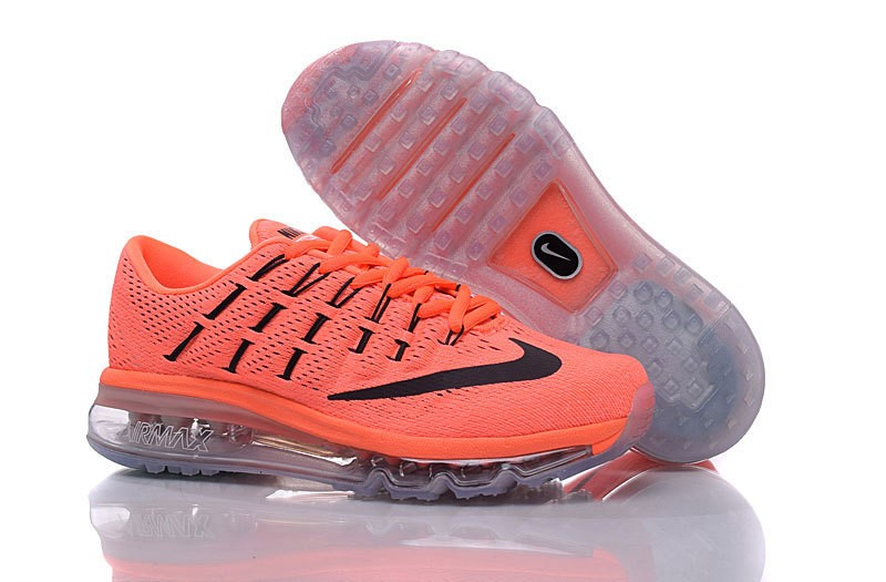nike air max orange fluo femme