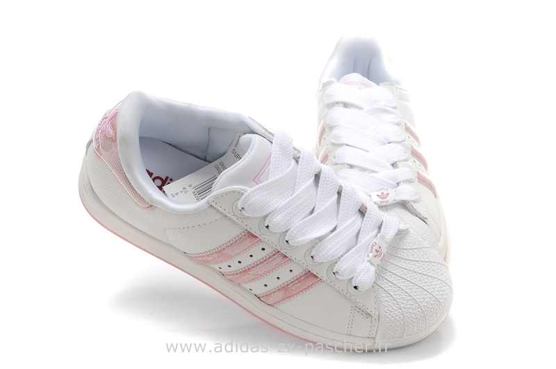 adidas blanche soldes