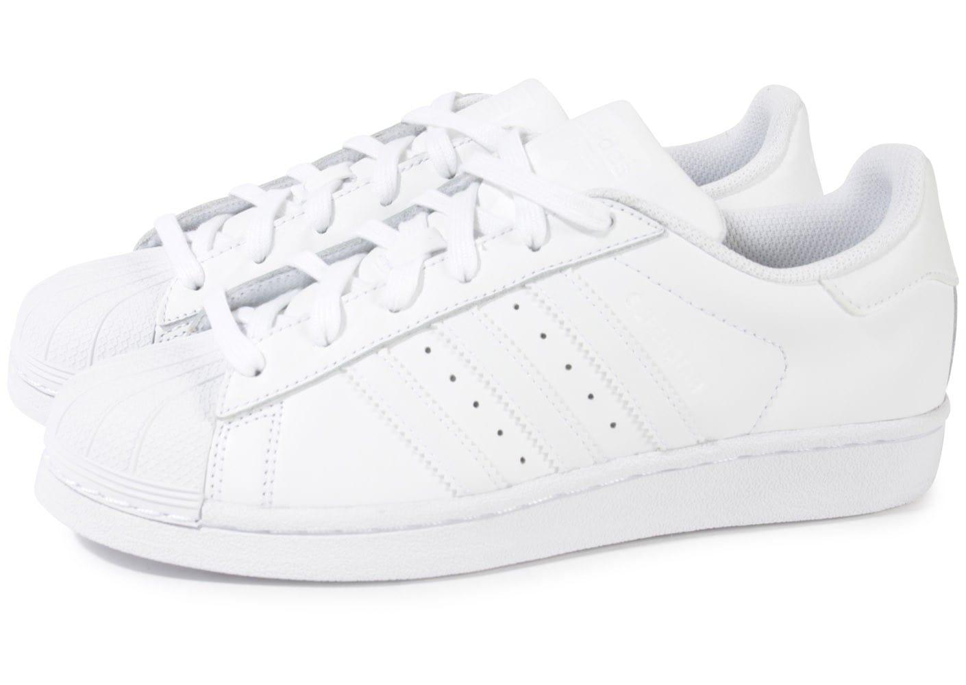 meilleur authentique 96054 33960 chaussure adidas superstar blanche